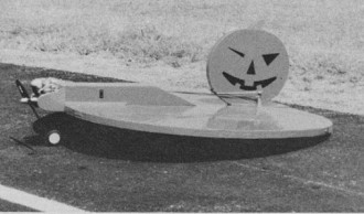 Jack-O-Lantern model airplane plan