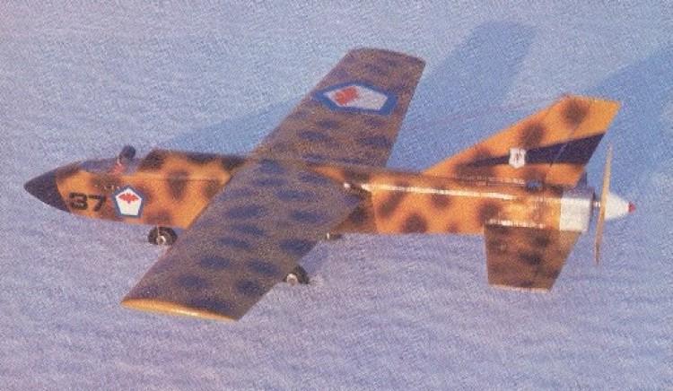 Jet Trainer model airplane plan