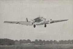 Junkers J.U. 52 model airplane plan