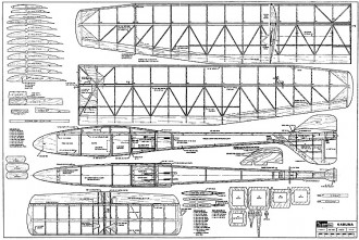 Kahuna model airplane plan