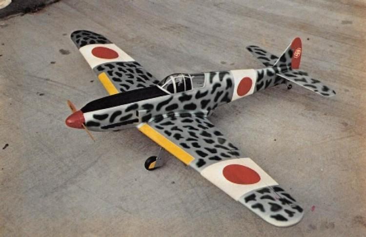 Kawasaki Tony Hien model airplane plan