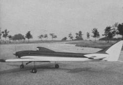 King Altair model airplane plan