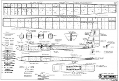 Kittiwake model airplane plan
