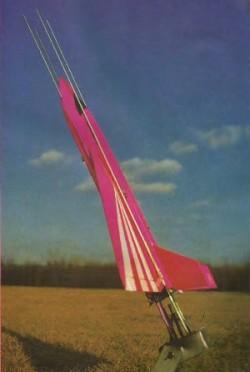 Lady Hawk model airplane plan