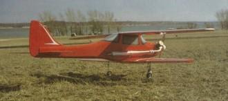 Lady's Fancy model airplane plan