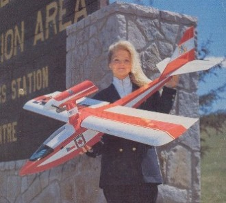 Laker model airplane plan