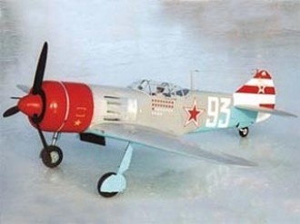 Lavochkin La-7 model airplane plan