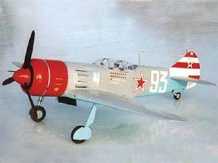 Lavochkin La-7 model airplane plan