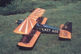 Lazy Ace model airplane plan