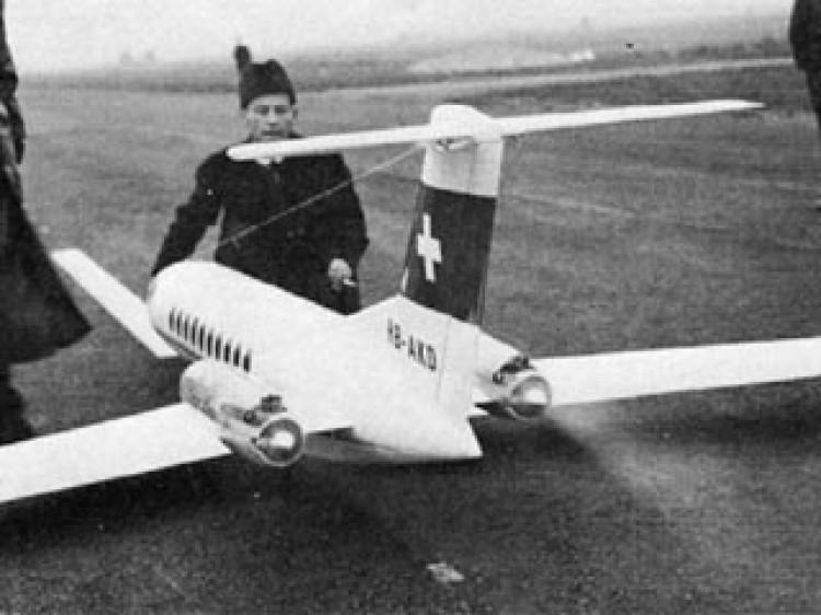 Lear Liner 40 model airplane plan