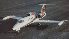 Learjet 35A model airplane plan
