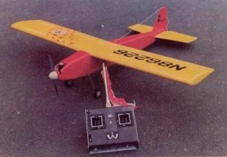 Little Mediator model airplane plan