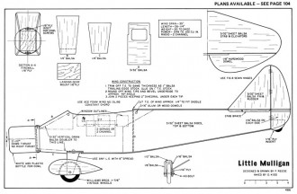 Little Mulligan-RCM-03-72 486 model airplane plan