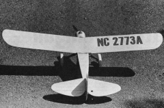 Little Mulligan model airplane plan