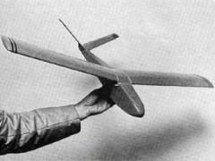 Little V model airplane plan