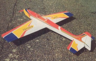 Loaded Dice model airplane plan