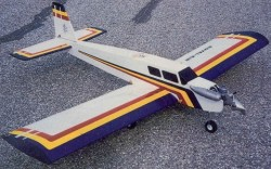Low Wing Trainer model airplane plan