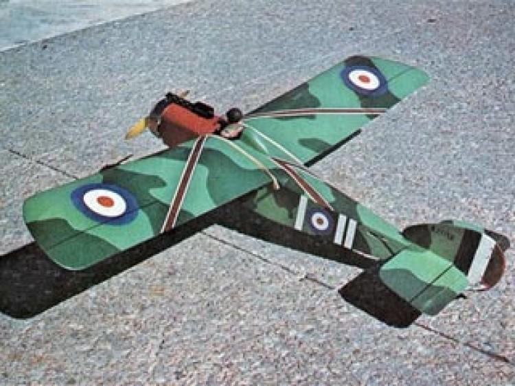 Mad Thrasher model airplane plan
