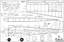 Mai Tai model airplane plan