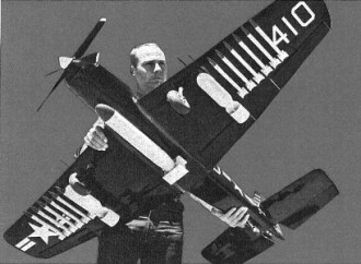 Martin AM-1 Mauler model airplane plan