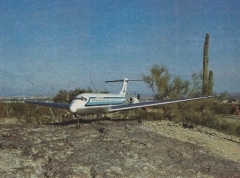 McDonnell Douglas DC-9 model airplane plan