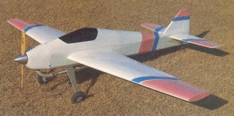 Megna 25 model airplane plan