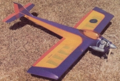 Mini Pro model airplane plan