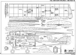 Mini Pro RCM-949 model airplane plan