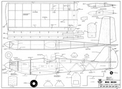 Miss Bikini model airplane plan
