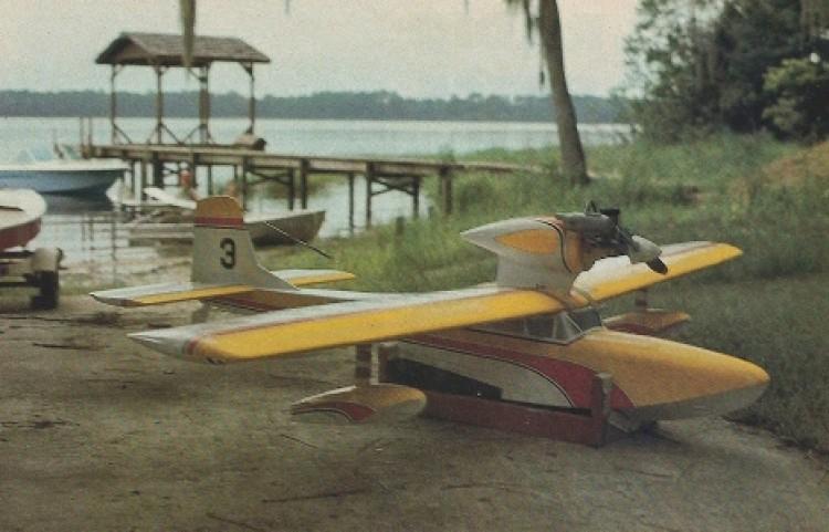 Miss Grandin model airplane plan