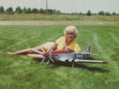 Miss Kat Brat model airplane plan