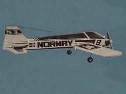 Miss Norway MK II model airplane plan