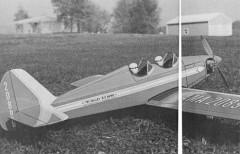 Miss Playmate model airplane plan