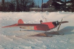 Miss Vintage model airplane plan