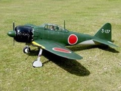 Mitsubishi A6M3 Zero model airplane plan