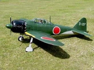 Mitsubishi A6M3 Zero model airplane plan