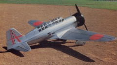 Mitsubishi Ki-15-1 Babs model airplane plan