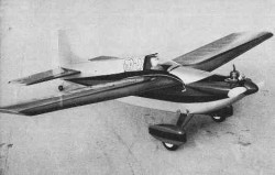 Mo-Jo model airplane plan
