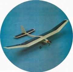 Monarch 05 model airplane plan