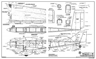 Mongoose II 40 model airplane plan