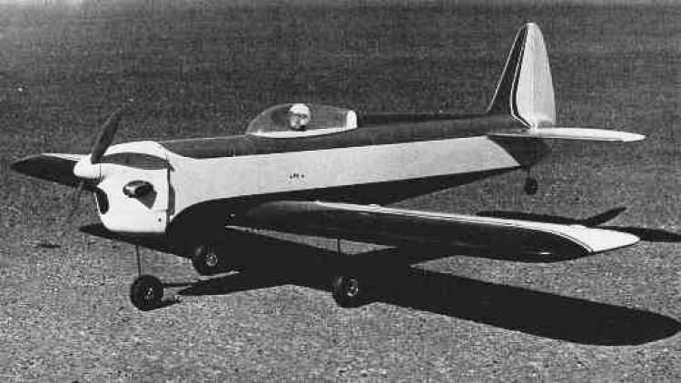 Mono-Bi model airplane plan