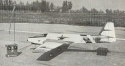 Morris H.F model airplane plan