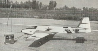 Morris H.F model airplane plan