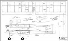 Mystik model airplane plan