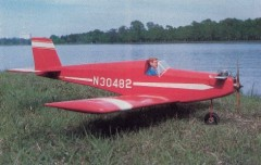Negotiator model airplane plan