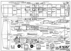New Era lll-RCM-1219 model airplane plan