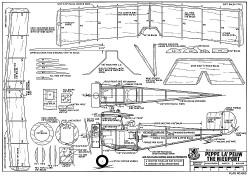 Nieuport Peppe La Peuw model airplane plan