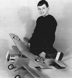 Nieuport model airplane plan