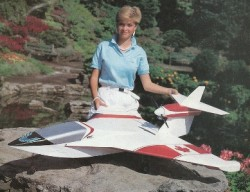 North Star model airplane plan