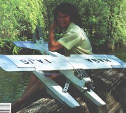 Northrop Eagle II model airplane plan